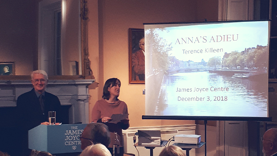 Terence Killeen Lecture James Joyce Centre Anna's Adieu The End of Finnegans Wake